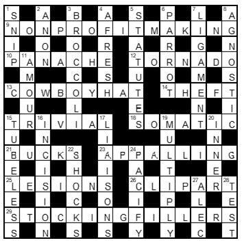 Bridgespotter S Cryptic Crosswords New Zealand Doctor