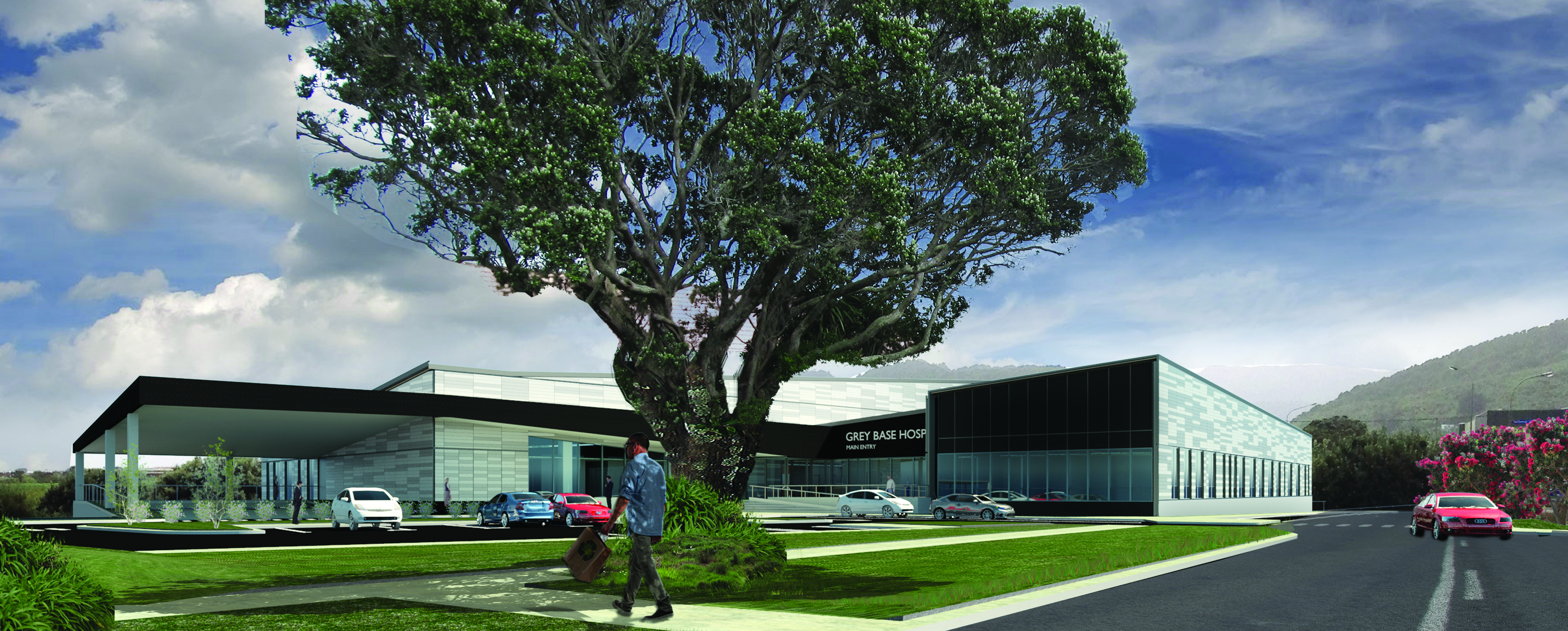 Over Budget And Overdue Greymouth Hospital Scheduled To