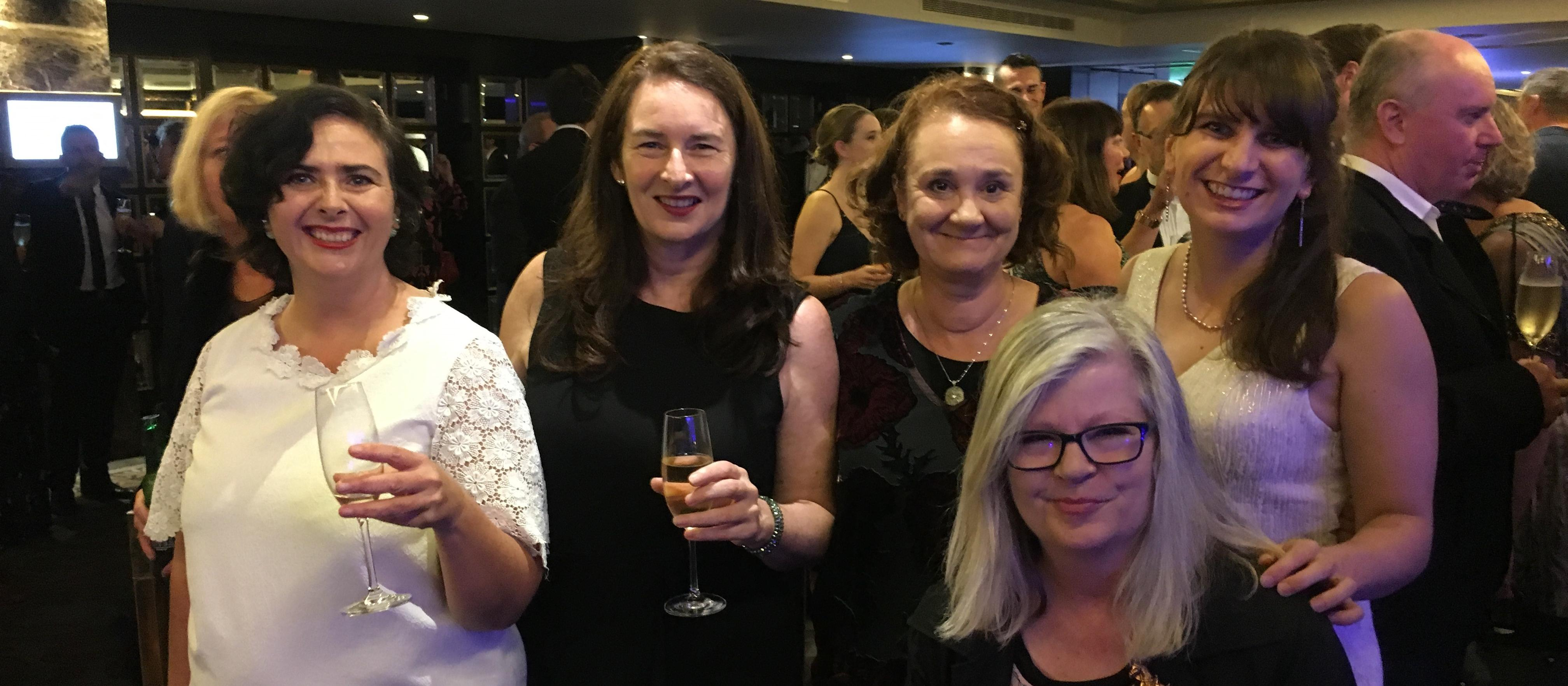 New Zealand Doctor staff at the Voyager Media Awards 2018