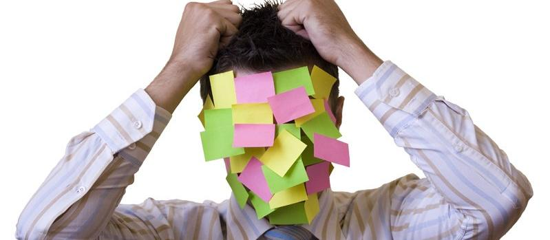 post it notes, business, frustration