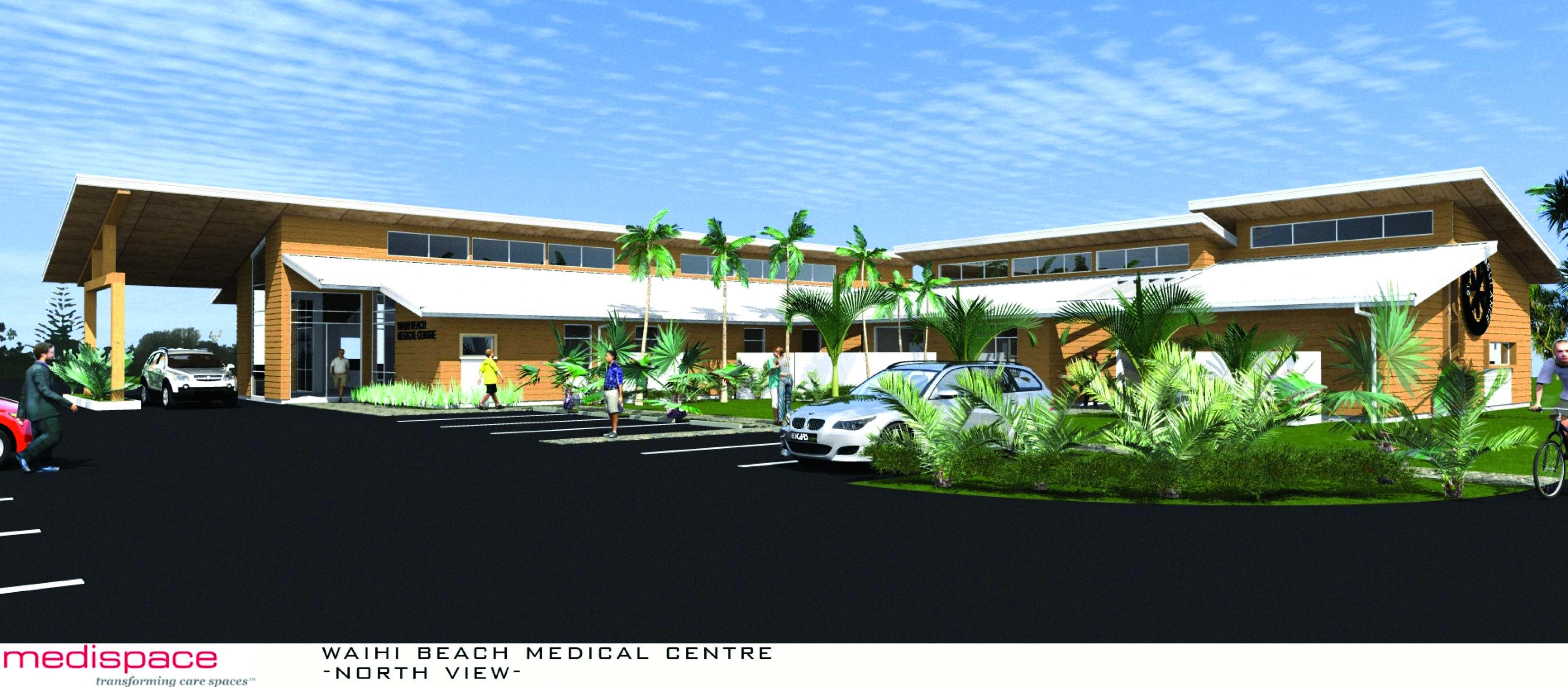 Waihī Beach ambulance station plan