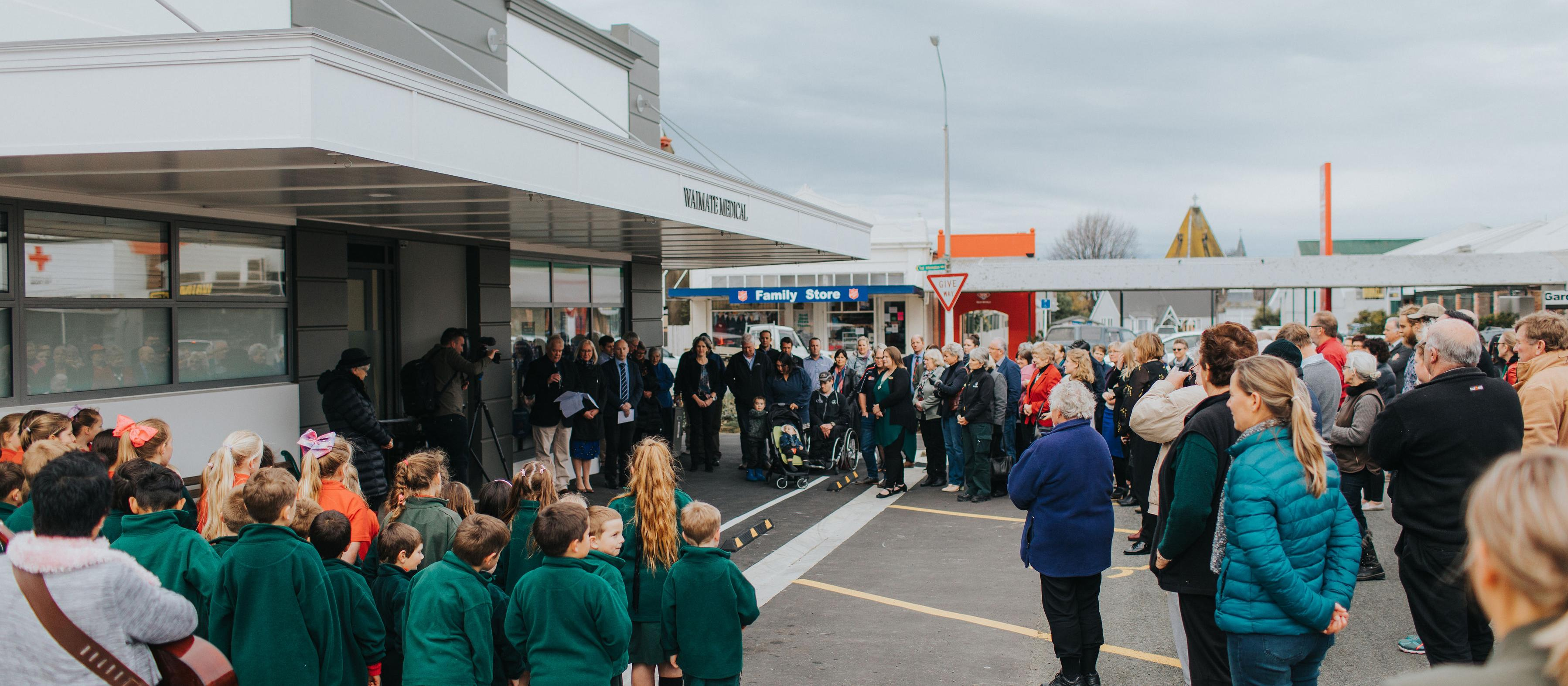 Opening ceremony Waimate Health Centre