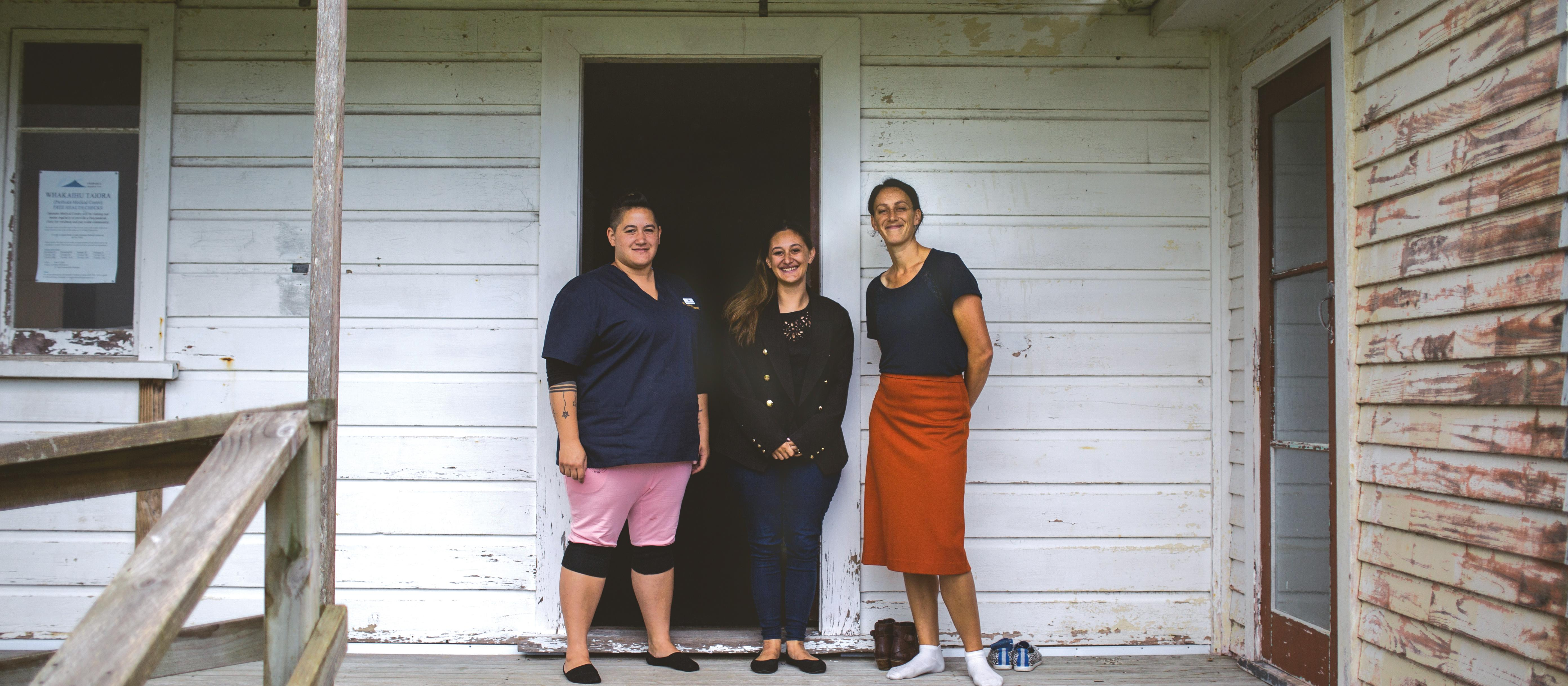 Parihaka team on Veranda