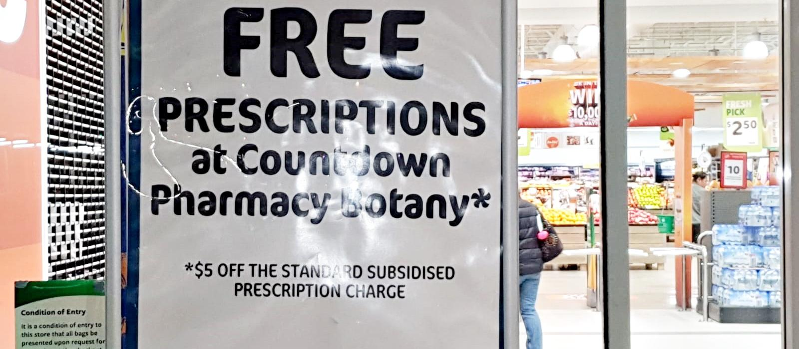 Countdown Botany Pharmacy