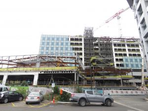 Construction of the largest government project in the Canterbury rebuild, Christchurch Hospital's acute services building