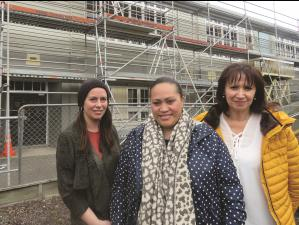 Rachel Miller, Mau White, Shelley Kapuna, Mataora health centre 2017