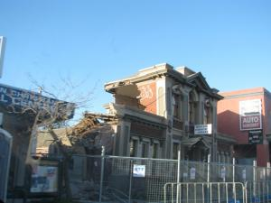Damage to a Ferry Road Building in Christchurch following a magnitude 6.3 earthquake that struck on 13 June 2011