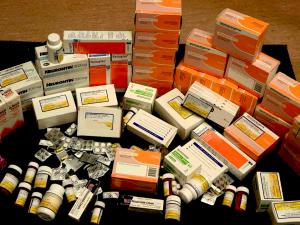 one patient's unused meds