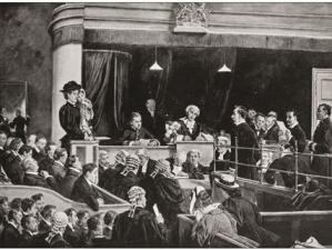 Bigamy in court