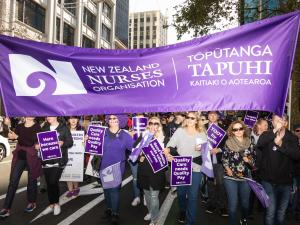 nurses strike, Auckland July 2018