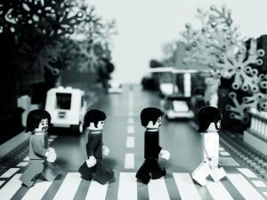Lego does Abby Road