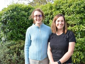 Nelson East Family Medical Centre GP Jocelyn Wood with clinical psychologist Kris Garstang