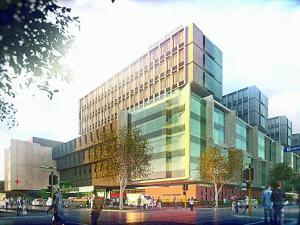 New Dunedin Hospital Artists Conceptual Impression 2019