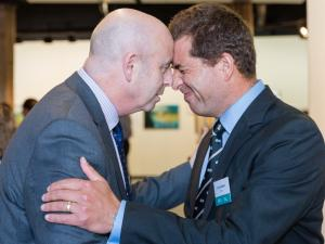 ANDREW CONNOLLY, CURTIS WALKER, hongi