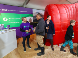Fieldays bowel cancer