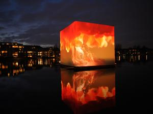 Climate change cube