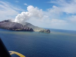 Whakaari / White Island - Auckland Rescue Helicopter Trust