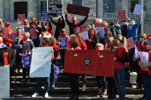 Nurses Rally Strike Protest Parliament NZNO 2
