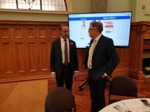 Andrew Little Stephen McKernan