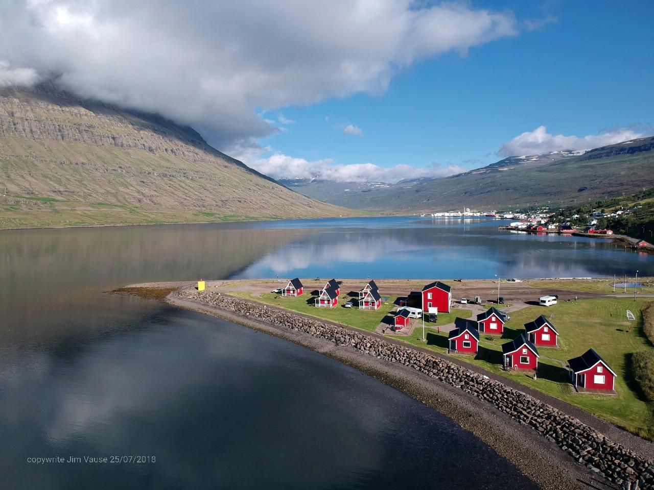 Eskifjörður is a charming seaside village in the middle of the eastern Fiords