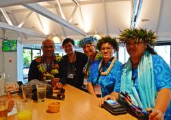 Abel Smith, Maryann Heather, Mary Kata, Metua Bates, Erenoa Rakaiui