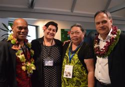 Abel Smith - Waitemata DHB, Maryann Heather GP South Seas Health, Vai Fagaloa Naseri - general manager Health Star Pacific, Kiki Maoate - president Pacific Medical Association