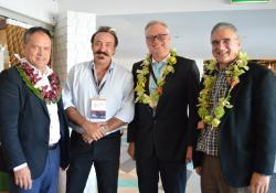 Kiki Maoate - Pacific Medical Association president, Bill Anseline - surgeon and James Lind - ED, Brisbane,  Francis Angew Waitemata DHB