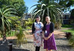 Pacific Pharmacists Association Diana Phone and Natalie Nu'u