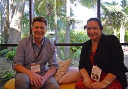 David Dunbar - Medical Council and Josephine Herman - Cook Islands secretary of health