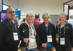 Andrew Graham, St John Auckland, Lisa Meadows, St John Christchurch, Denise Guy, St John Hamilton, Linda Reynolds, RGPN NZ